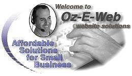 Oz-E-Web for affordable website solutions